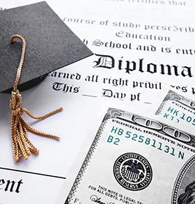 Diploma and scholarship