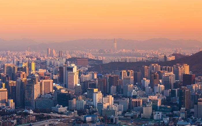 Sunrise in Seoul