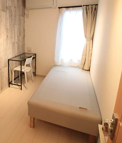 A share house room in Tokyo