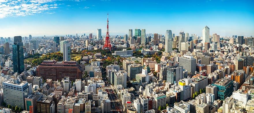 Tokyos skyline